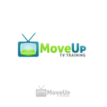Move Up TV Training  Logo - Entry #97