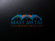 Mast Metal Roofing Logo - Entry #14