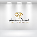 American Diamond Cattle Ranchers Logo - Entry #74