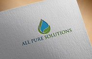 ALL PURE SOLUTIONS Logo - Entry #45
