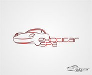 i need a logo for www.exoticarspa.com - Entry #75