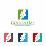 Golden Oak Wealth Management Logo - Entry #164