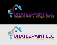 uHate2Paint LLC Logo - Entry #24