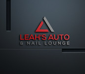 Leah's auto & nail lounge Logo - Entry #86