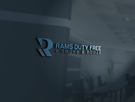 Rams Duty Free + Smoke & Booze Logo - Entry #161