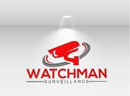 Watchman Surveillance Logo - Entry #244