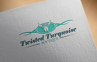 Twisted Turquoise Boutique Logo - Entry #92