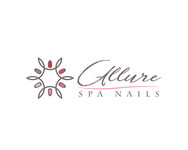Allure Spa Nails Logo - Entry #2