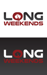 Long Weekends Logo - Entry #10