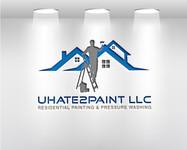 uHate2Paint LLC Logo - Entry #100