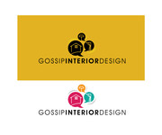 Gossip Interior Design Logo - Entry #39