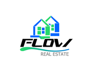 Flow Real Estate Logo - Entry #111