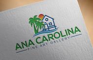Ana Carolina Fine Art Gallery Logo - Entry #221
