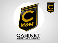 Cabinet Makeovers & More Logo - Entry #48