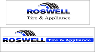 Roswell Tire & Appliance Logo - Entry #100