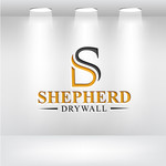 Shepherd Drywall Logo - Entry #77