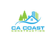 CA Coast Construction Logo - Entry #221