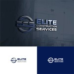 Elite Construction Services or ECS Logo - Entry #14