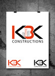 KBK constructions Logo - Entry #122