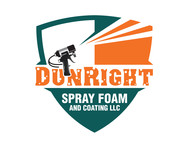 Dun Right Spray Foam and Coating LLC Logo - Entry #43