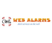 Logo for WebAlarms - Alert services on the web - Entry #192