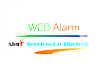 Logo for WebAlarms - Alert services on the web - Entry #81