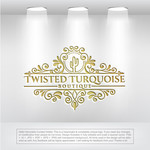 Twisted Turquoise Boutique Logo - Entry #111