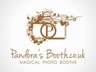 Pandora's Booth Logo - Entry #8