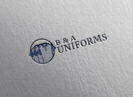 B&A Uniforms Logo - Entry #116