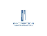KBK constructions Logo - Entry #143