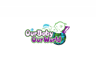 Logo for our Baby product store - Our Baby Our World - Entry #100