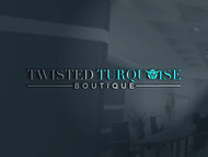 Twisted Turquoise Boutique Logo - Entry #177
