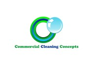 Commercial Cleaning Concepts Logo - Entry #6