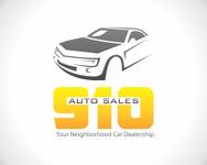 910 Auto Sales Logo - Entry #53