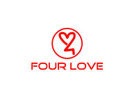 Four love Logo - Entry #155