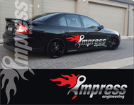 Impress Engineering Logo - Entry #44