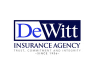 """DeWitt Insurance Agency"" or just ""DeWitt"" Logo - Entry #223"