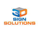 3D Sign Solutions Logo - Entry #5