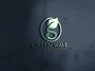 Green Wave Wealth Management Logo - Entry #457