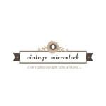 Vintage Microstock Logo - Entry #25