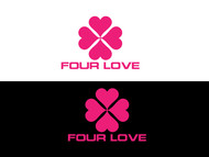 Four love Logo - Entry #296