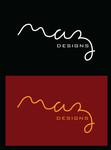 Maz Designs Logo - Entry #397