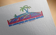 South East Qld Landscaping and Fencing Supplies Logo - Entry #9