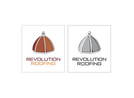 Revolution Roofing Logo - Entry #548