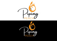 Piping Peach, Honey Lemon Pepper Logo - Entry #45