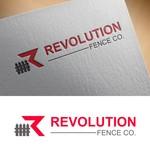 Revolution Fence Co. Logo - Entry #393