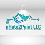 uHate2Paint LLC Logo - Entry #172