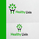 Healthy Livin Logo - Entry #457