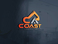 CA Coast Construction Logo - Entry #156