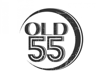 """""""OLD 55"""" - mid-century vintage furniture and wares store Logo - Entry #121"""